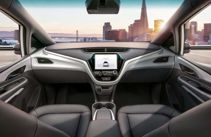 General Motors Cruise AV Self-Driving Car