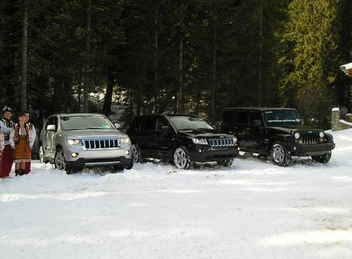 Новые Jeep Grand Cherokee, Jeep Compass и Jeep Wrangler