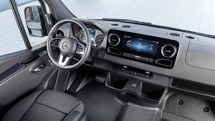 Новый Mercedes-Benz Sprinter / Мерседес-Бенц Спринтер