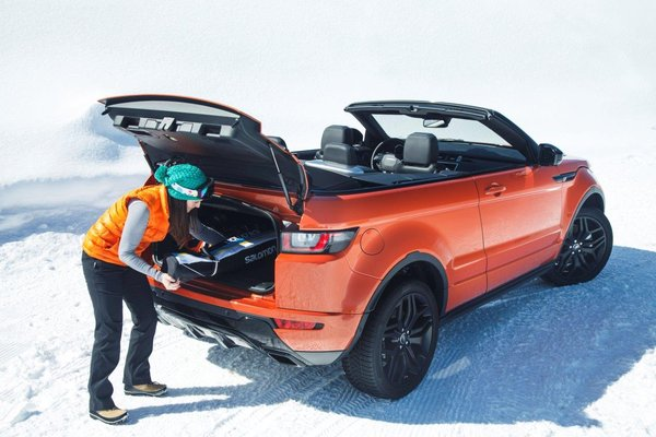 Range Rover Evogue Кабриолет