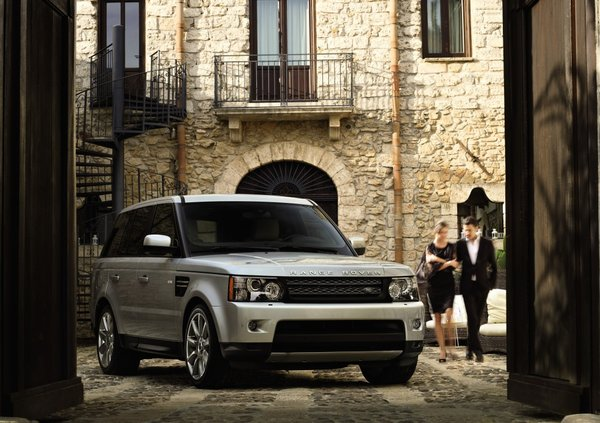 Range Rover Sport Limited Edition Silver