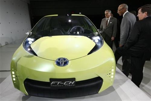 Toyota FT-CH Compact Hybrid